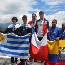 Chile se tiñe de dorado: delegación nacional de canotaje obtiene 11 medallas de oro en primera jornada del Sudamericano