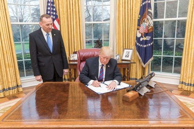 Trump sustituye al jefe del Servicio Secreto encargado de su seguridad