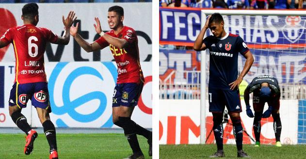 Revisa todos los goles de la sexta fecha que dejó a la Unión Española como líder y a la Universidad de Chile en zona de descenso