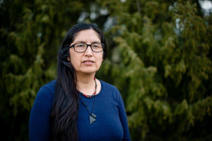 Cristina Zarraga, la nieta de la yagán declaradaTesoro Humano Vivo, que busca preservar su cultura en Alemania