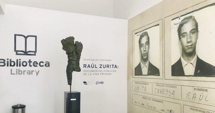 Exposición sigue las huellas de la vida del Premio Nacional de Literatura Raúl Zurita