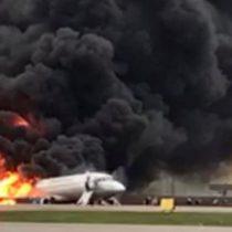 Accidente de Aeroflot en Rusia: