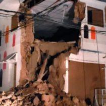 Un fuerte sismo de magnitud 7,5 sacude el norte de Perú y se siente en Ecuador
