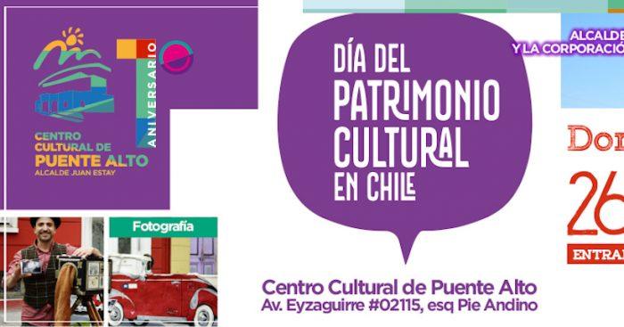 Día del Patrimonio: Variadas actividades en Centro Cultural de Puente Alto