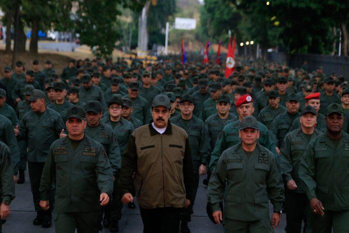 Posibilidad de intervención militar en Venezuela