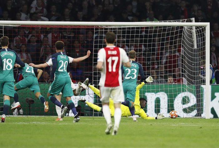 Otra hazaña en la Champions: Tottenham derrota al Ajax en el último minuto y clasifica a su primera final