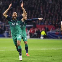 La emoción de Lucas Moura cuando le mostraron sus goles en la semifinal de Champions ante el Ajax