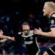 Ajax sigue tumbando a ricos del fútbol: acciones alcanzan récord