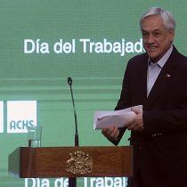 Piñera destaca creación de empleos bajo su Gobierno en conmemoración del día del trabajador