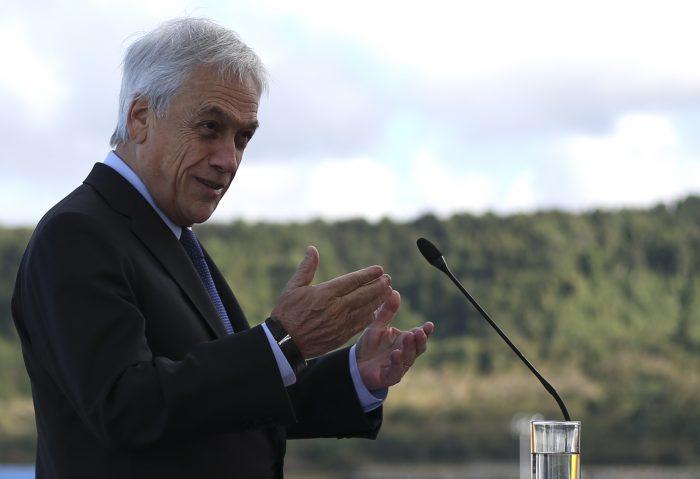 Piñera inaugura cable de fibra óptica junto a ejecutivo de Huawei