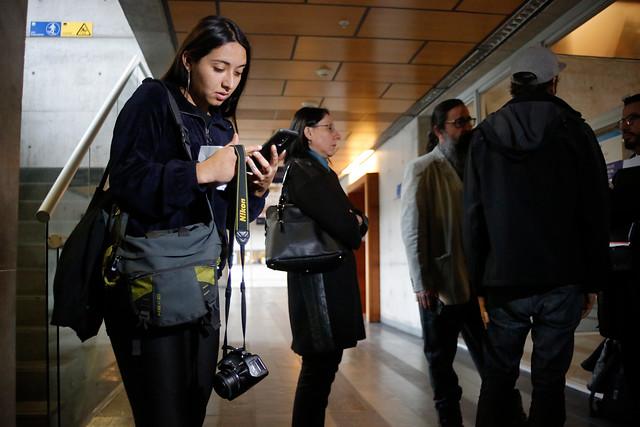 Carabinera que agredió a joven fotógrafa en protesta del Instituto Nacional fue dada de baja