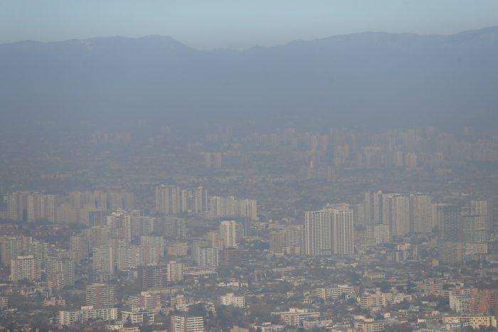 La primera del año: Intendencia decreta alerta ambiental para la Región Metropolitana