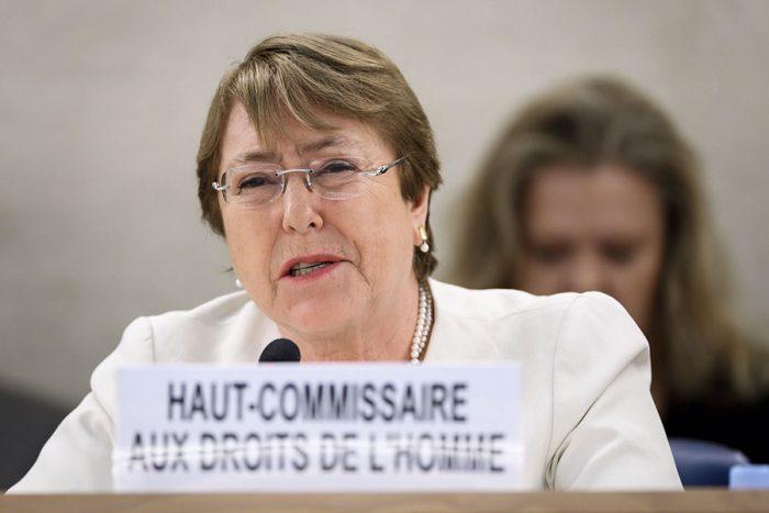 Bachelet manifiesta estar