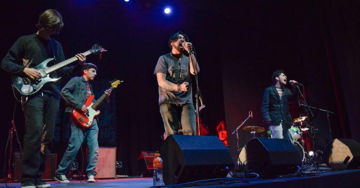 Concierto aniversario de Escuela de Rock en Centro Cultural de Puente Alto