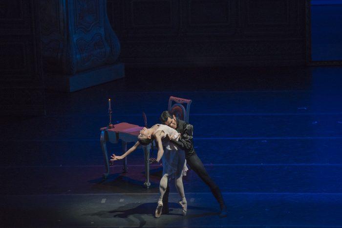 Ballet Eugenio Oneguin en Teatro Municipal