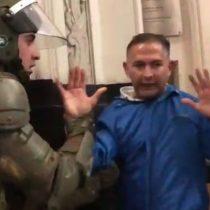 Las imágenes del desalojo de los gendarmes que se parapetaron en el ministerio de Justicia