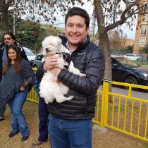 Macul inaugura primera zona recreativa para mascotas