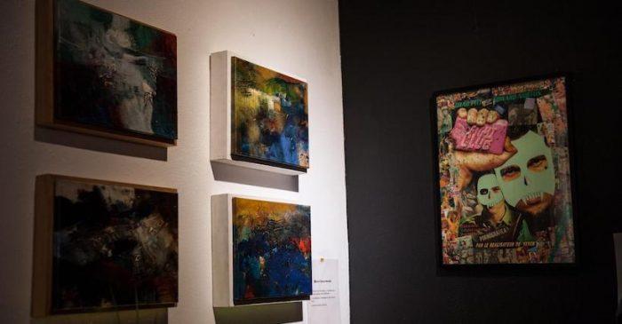 """Exposición colectiva """"Dimensiones"""" en Casa Capellán"""