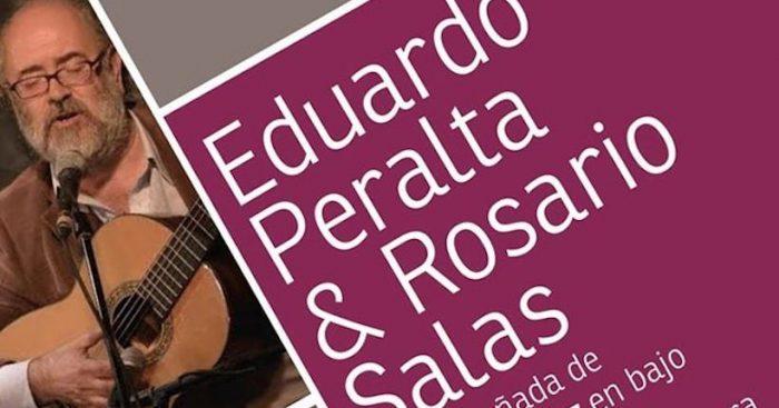 Concierto «Lunes Peraltianos» con Eduardo Peralta y Rosario Salas en Mesón Nerudiano
