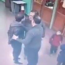 Profesor sufrió violenta agresión en manos de un apoderado en Puerto Montt