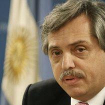Irradiando optimismo: Alberto Fernández dice que si es elegido