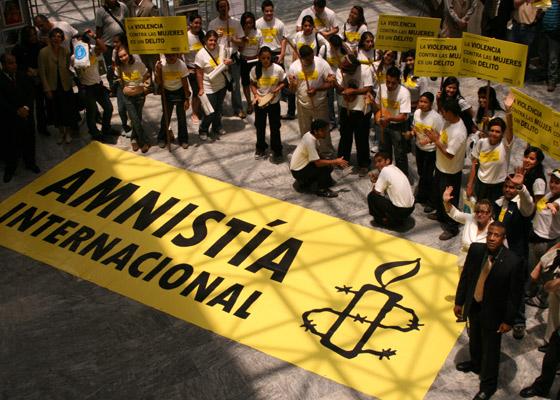 Un intento de difamación a Amnistía Internacional