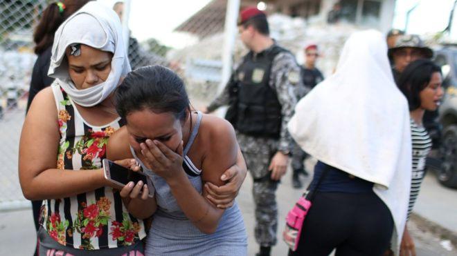 Brasil: ascienden a 55 los muertos en varias prisiones del estado Amazonas tras un segundo día de enfrentamientos entre presos