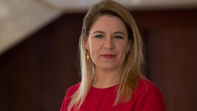"""Claudia Dobles, la primera dama de Costa Rica y la única latina en la lista de """"Fortune"""" de los 50 líderes más importantes del mundo"""