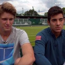 Copa Mundial por Equipos: Garín y Jarry lideran el primer entrenamiento de Chile de cara a la ATP Cup