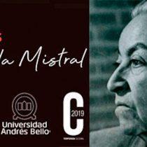 Exposición: 130 años Gabriela Mistral en Campus Casona de Las Condes UNAB