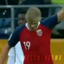 Triple hat-trick: futbolista noruego batió récord en la historia de los mundiales y convirtió 9 goles en un partido