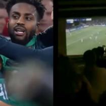 Mufazo: hinchas del Ajax iniciaron cuenta regresiva que se vio interrumpida por el agónico gol del Tottenham