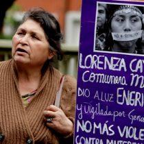 Absuelven a gendarmes involucrados en parto engrillado de Lorenza Cayuhan