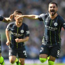 Manchester City golea al Brighton y se corona bicampeón de la Premier League