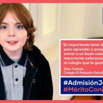 Critican uso de imagen de niño actor para campaña de Admisión Justa sin consentimiento de su padre