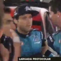 Hijo de Carlos Heller fue agredido durante largadaprotocolar del Mundial de Rally
