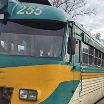 Final feliz: Encuentran tren Ramal Talca-Constitución que estuvo 5 horas extraviado debido al mal tiempo