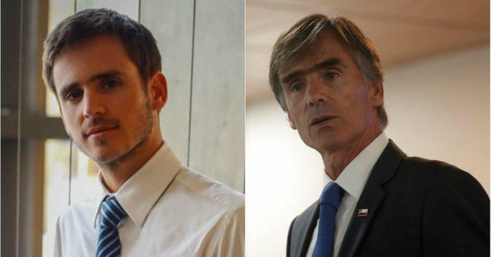 Nada transparente: Ministro Valente se niega a responder por qué su hijo participó en reuniones oficiales de la OCDE