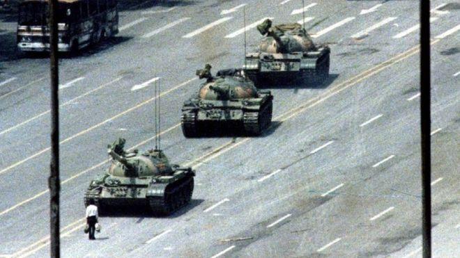 30 años de la masacre de Tiananmen: el gran acto de