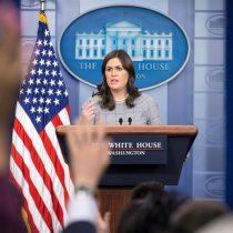 En la Casa Blanca sí cambió la vocera: Trump anuncia que Sarah Sanders dejará su cargo