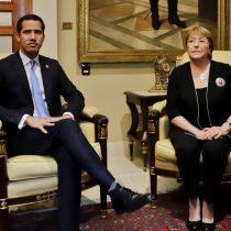 Guaidó destacó visita de Bachelet a Venezuela: