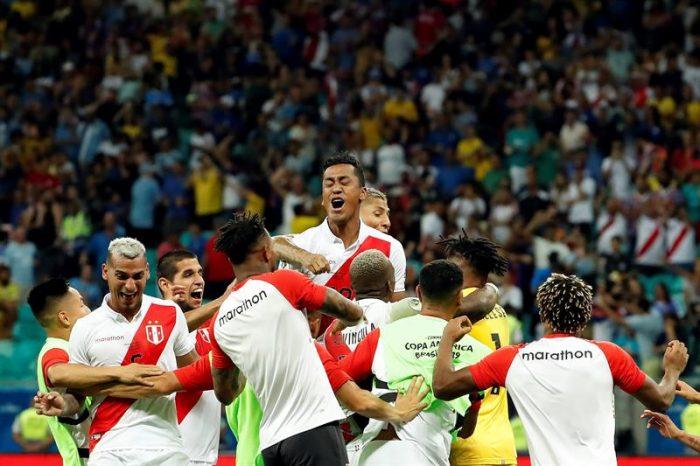 Perú elimina a Uruguay en tanda de penales y jugará semifinal contra Chile en Copa América