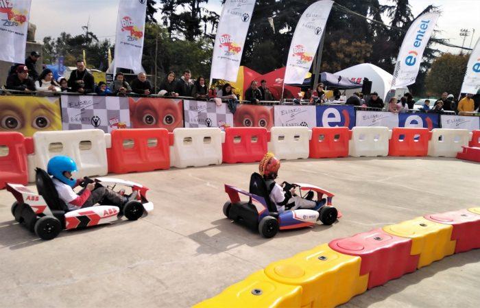 Segunda fecha de karts eléctricos para niños