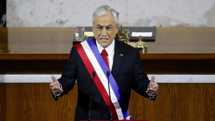 Cuenta Pública: Piñera anuncia que llamará a licitación internacional por tren Santiago-Valparaíso