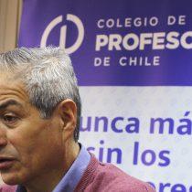 Profesores valoran diálogo con el Gobierno pero seguirán movilizados si el viernes no reciben respuesta