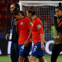 Los lamentos de la seleccionadas chilenas tras la eliminación del Mundial de Francia