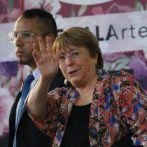 Bachelet se reúne con el canciller venezolano Jorge Arreaza en Caracas