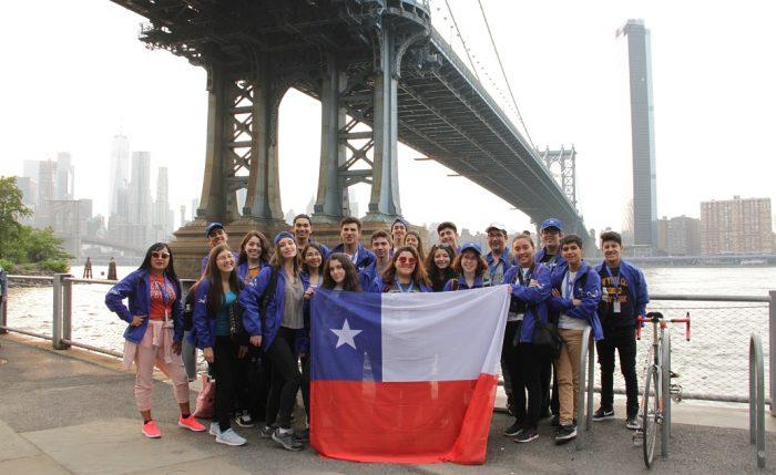 Estudiantes secundarios viajaron a Nueva York para perfeccionar su inglés