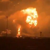 Impactantes explosiones en compañía petrolera sacudieron a Filadelfia