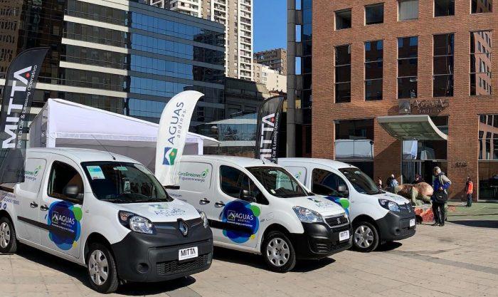 Presentan la flota de vehículos eléctricos operativos más grande del país